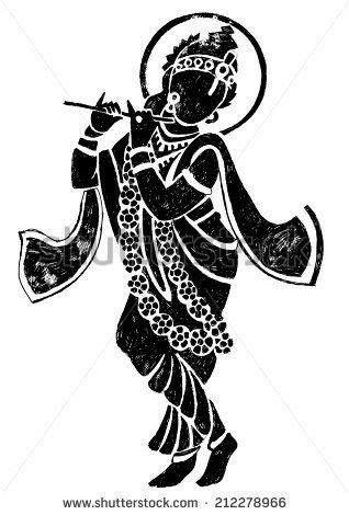 Pin by Deepti Rane on कान्हा ! in 2019 | Krishna drawing