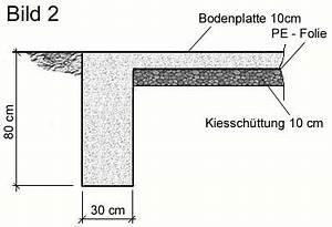Bewehrung Beton Berechnen : fundament f r gartenhaus bauen ~ Themetempest.com Abrechnung