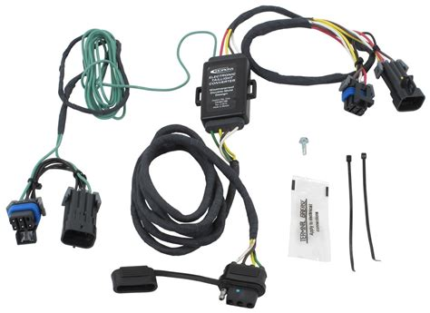 n tow r vehicle wiring harness with 4 pole trailer connector custom fit vehicle