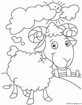 Sheep Coloring Pages Wool Cloud Sun Lost Proud Domesticated Animal Sheets Farm Parable Coloringhome Bestcoloringpages Drawings Printable Waves Ocean Animals sketch template