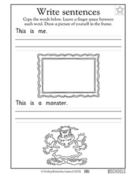 kindergarten preschool reading writing worksheets my
