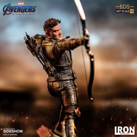 Iron Studios Avengers Endgame Hawkeye Battle Diorama