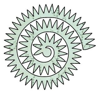 cricut flower template paper this and that two rolled flower svg files
