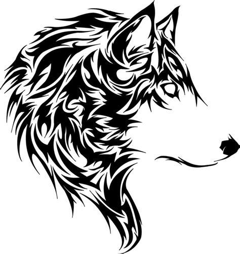 tribal tiger tattoo designs tete de loup tribal
