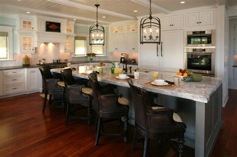 kitchen island chair beach house kitchens beach style kitchen philadelphia by asher associates architects