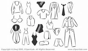 clip art, clothing, black and white | Street Signs Project ...