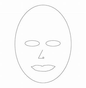 Blank Mask Template Printable | www.imgkid.com - The Image ...
