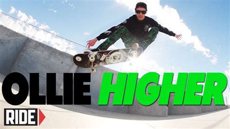 Spencer Nuzzi Skate Deck by How To Ollie Higher Basics With Spencer Nuzzi