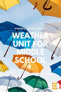 Earth Science Middle School Weather Unit In 2020