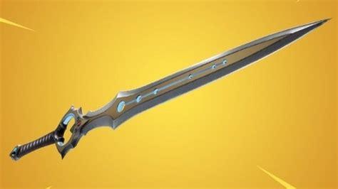 fortnites dreaded infinity blade sword
