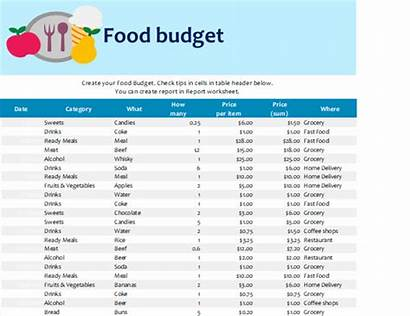 Budget Templates Grocery Excel Template Budgets Office