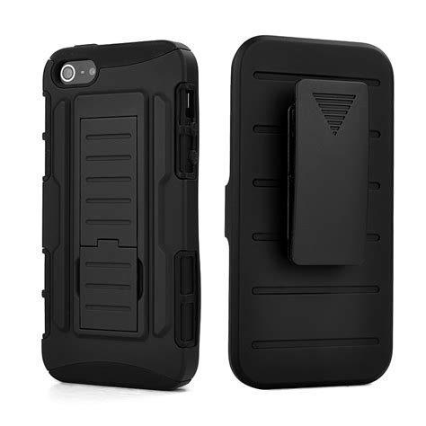 iphone 5s cases with clip for coque iphone 5s 5c future armor hybrid belt clip