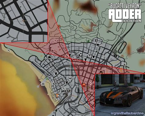 gtav adder location bugatti veyron video  comments gtav