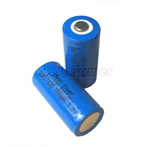 Best Rechargeable Cr123a Lithium Batteries by 3 7v Protected Rechargeable Cr123a Battery Ibestpower