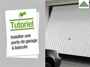 montage porte de garage basculante tubauto l39univers du With porte de garage basculante tubauto