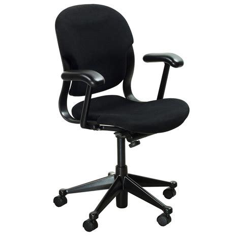 herman miller equa used mid back task chair black