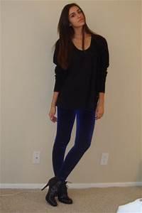 Black Shirt Black Leggings - The Else