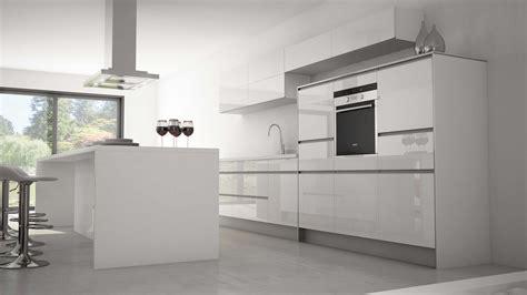 architecture cuisine cuisine grise plan de travail blanc