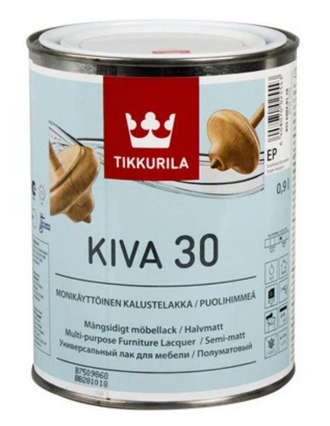 TIKKURILA KIVA INTERIOR- lakier, półmat, 0,9l 6880777517 - Allegro.pl