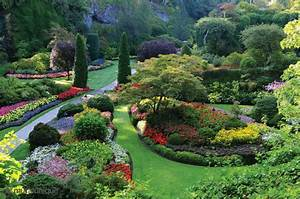 The Butchart Gardens, Victoria, British Columbia, Canada