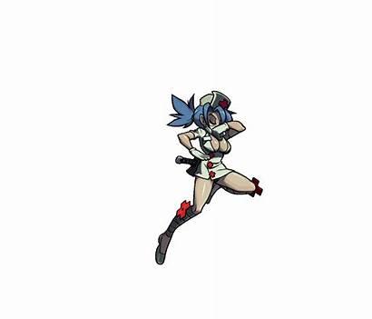 Skullgirls Valentine Pixel Sprites Characters Animated Gifs