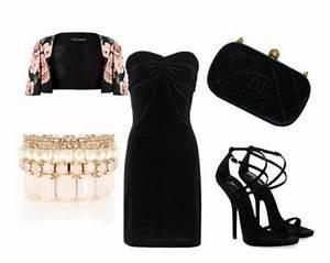 Accessori per abito nero