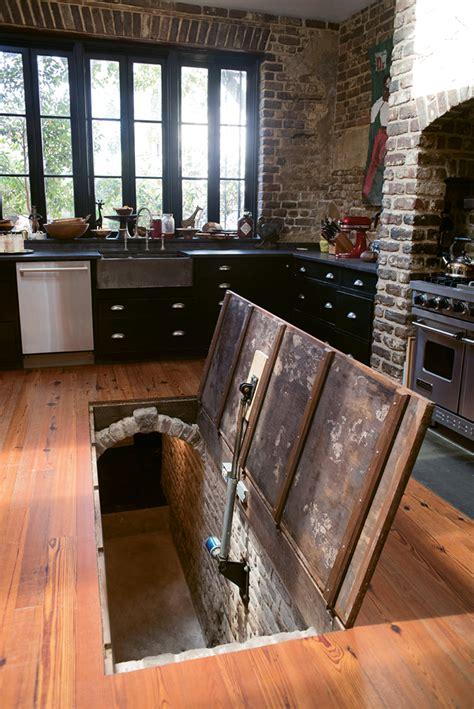 kitchen island secret passage mix master charleston magazine 5151