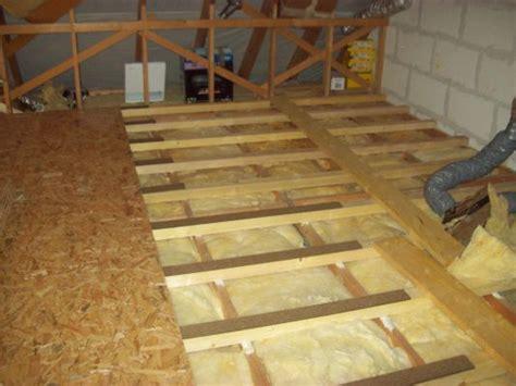 isoler sol garage pour faire chambre plancher comble mes combles