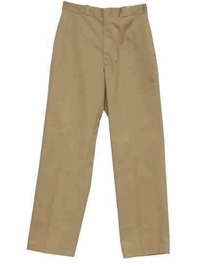 Pants Clipart Khaki Mens Uniform Navy Cliparts