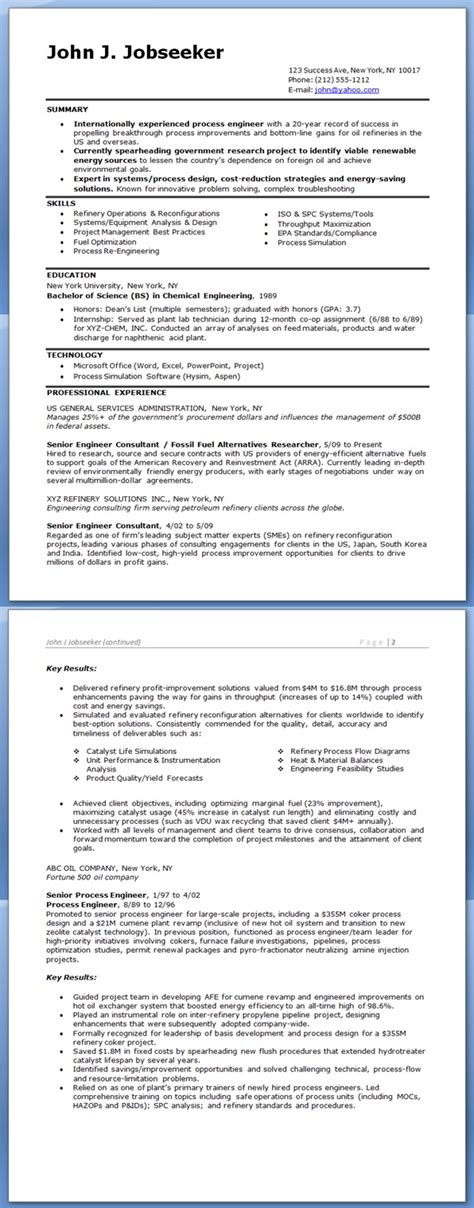 free sle resume process engineer custom writing at