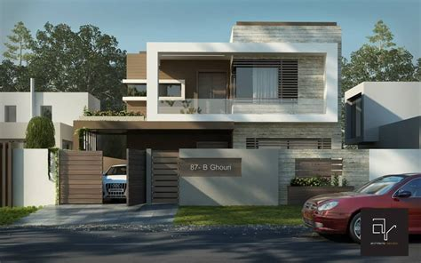 Marla House Design Story by 10 Marla House At Bahria Town Lahore Architecture