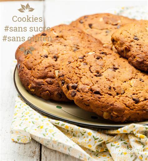 recettes maxi cuisine dessert maxi cookies sans sucre blanc et sans gluten