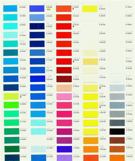 Davies Paint Philippines Color Chart