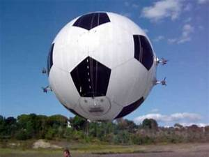 worlds largest soccer ball 21st Century Airships soccer ...