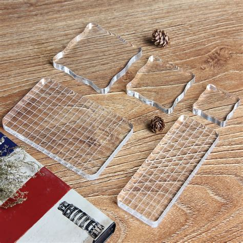 buy acrylic stamping block rubber stamp
