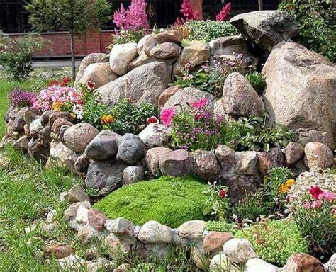 Pflanzen Für Steingarten Immergrün by Steingarten Mit Blumen