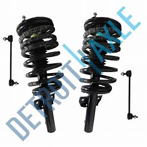 Both  2  Brand New Complete Front Strut Assembly   2 Front
