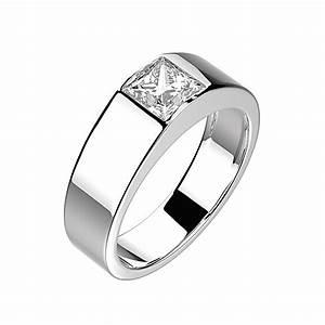 Bague Homme Argent Artisanale : gemmyo bague ludwig argent diamant ~ Nature-et-papiers.com Idées de Décoration