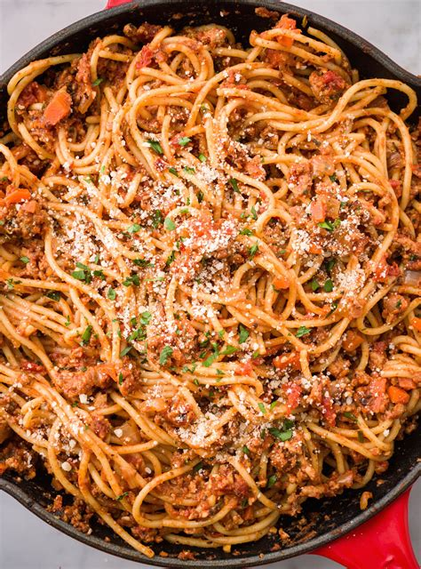 And while turkey has gotten a bad reputation over the years for being dry and tasteless, simply follow the easy recipe instructions and you will see how flavorful and juicy ground turkey can be. These Spaghetti Recipes While Convince You To Experiment ...