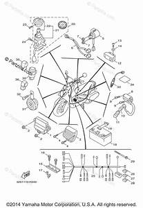 Yamaha Scooter 2009 Oem Parts Diagram For Electrical