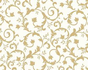 Tapeten Mit Muster : shopping tapeten tapete classic fleece weiss gold ~ Eleganceandgraceweddings.com Haus und Dekorationen