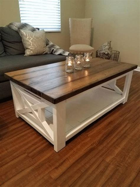 Make all the cuts from the tryde cofee table plans on ana white. DIY Coffee Tables Ideas in 2020 | Farmhouse style coffee table, Coffee table farmhouse ...