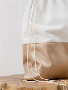 Retro Rucksack Selber Nähen : bronze turnbeutel aus leder leather gymbag via diy fashion turnbeutel leder ~ Orissabook.com Haus und Dekorationen