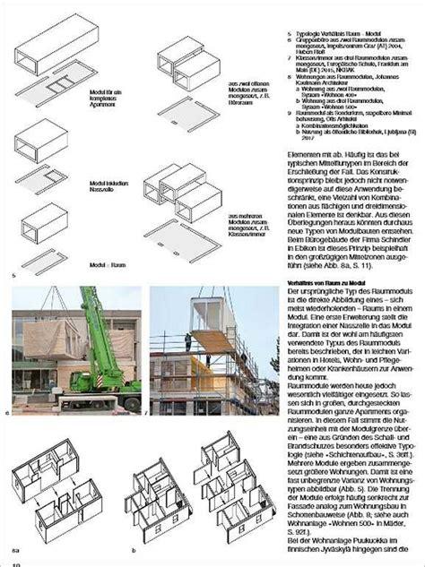 Holzbau Raummodule by Holzbau Raummodule Medienservice Holzhandwerk