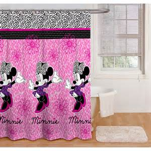 minnie mouse glamour shower curtain walmart com