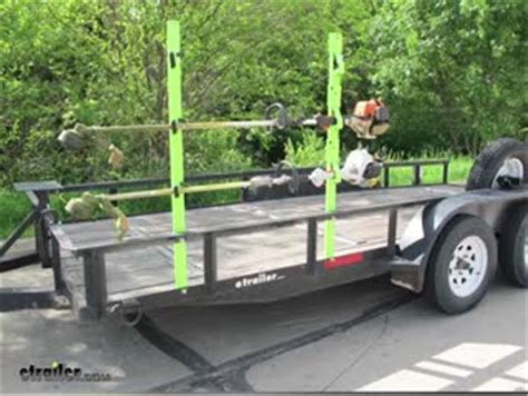 weedeater rack for trailer tow rax trimmer rack for open utility trailers usa