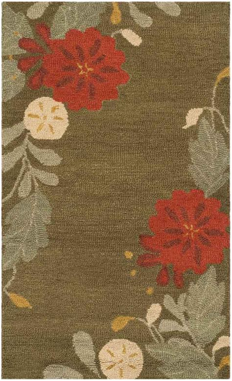 Safavieh Rugs Martha Stewart by Rug Msr4871b Picture Block Floral Martha Stewart Area