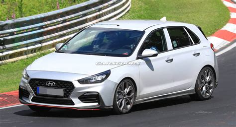 Hyundai Lines by New Hyundai I30 N Line Takes Camouflage During Track
