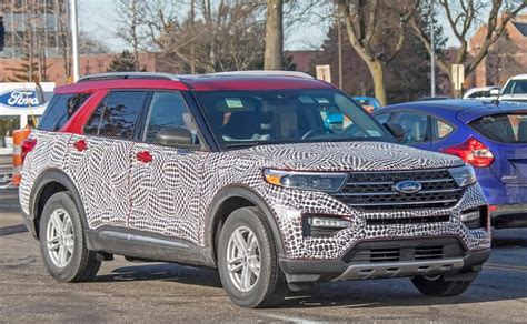 ford explorer spy  release date interior