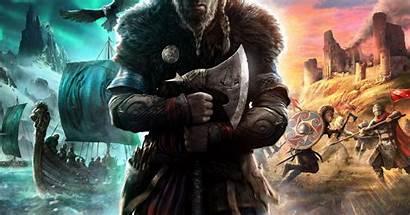 Creed Valhalla Ubisoft Assassin Polygon Viking Bosslogic